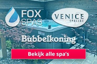 Alle badspa's en bubbelbaden