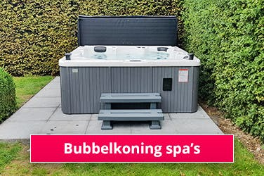 Bubbelkoning spa's